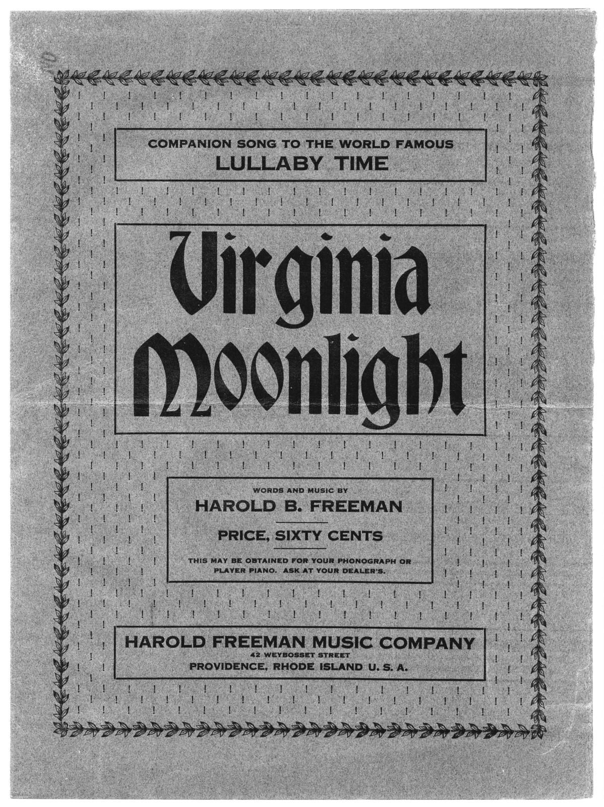 Virginia moonlight