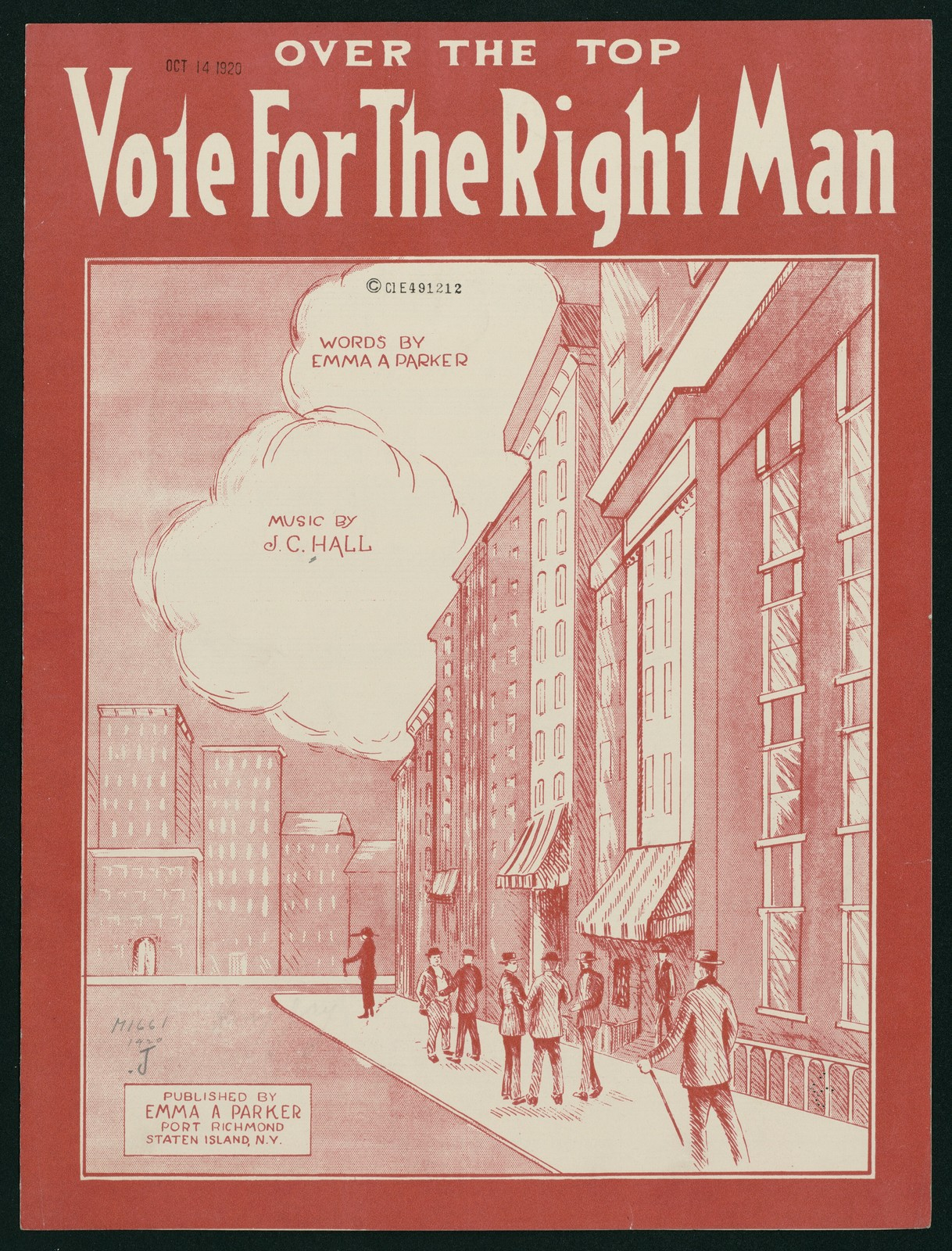 Vote for the Right Man