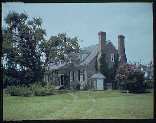 Wakefield, Virginia, George Washington's birthplace. View of Wakefield I