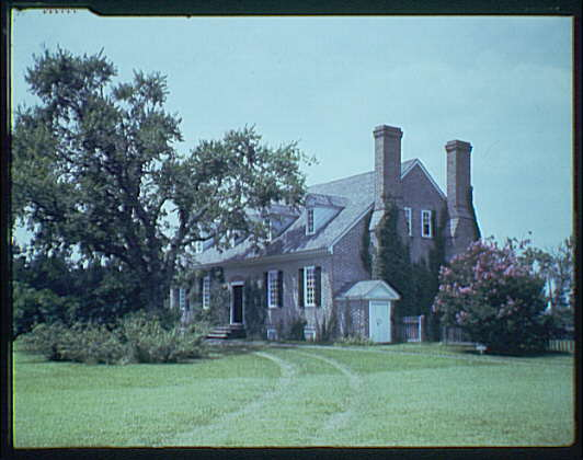 Wakefield, Virginia, George Washington's birthplace. View of Wakefield II