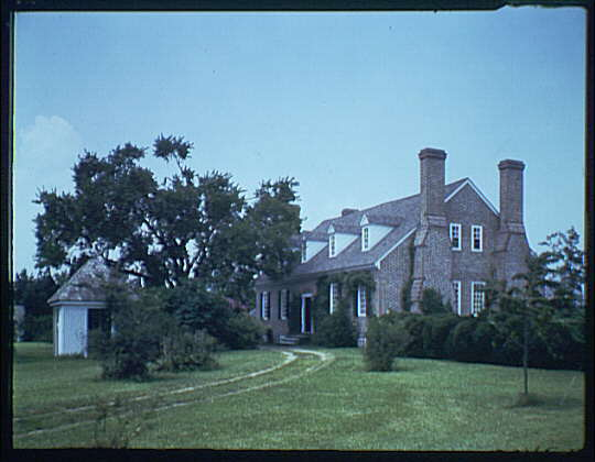 Wakefield, Virginia, George Washington's birthplace. View of Wakefield V