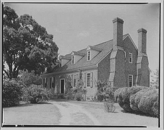 Wakefield, Washington's birthplace. Exterior of Wakefield I