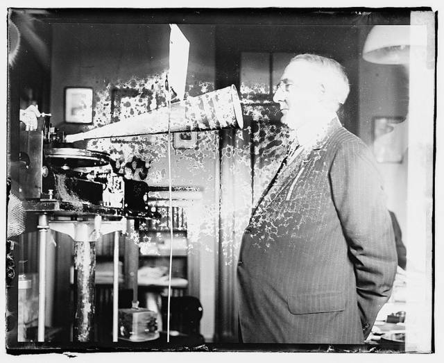 Warren G. Harding, making records