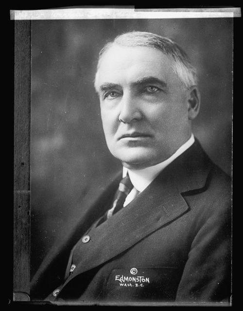 Warren G. Harding, official picture