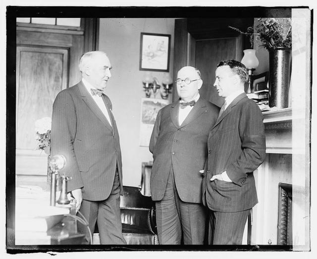 Warren G. Harding, Wm. Boyce Thompson & Theo. Roosevelt, Jr.