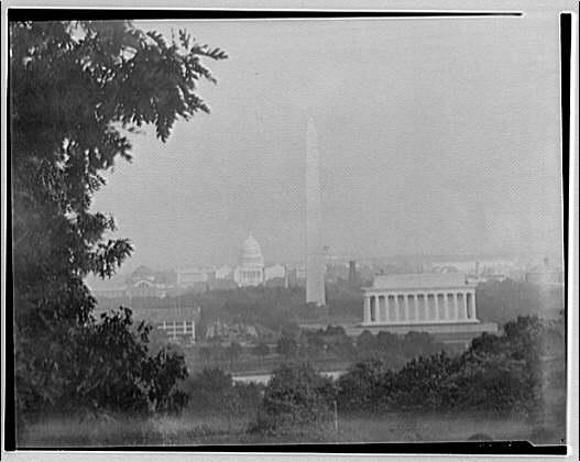 Washington, D.C. City from Custis-Lee Mansion I