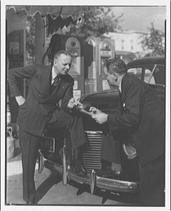 Washington Gas Light Co. Testimonial on use of gas (portrait for advertising) XIII
