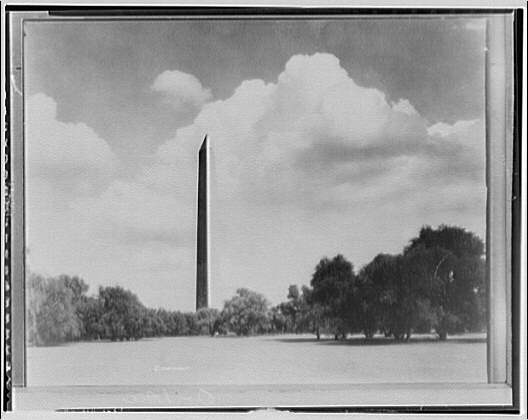 Washington Monument. View of Washington Monument from parkway III