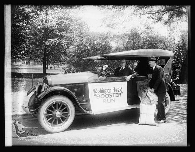 Wescott Car, Herald Booster run, [5/6/20]