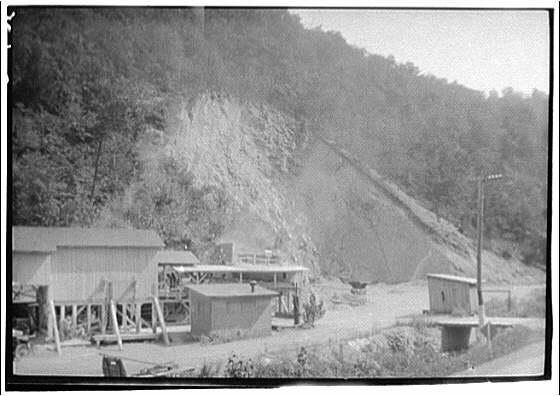 West Virginia trip. Mining buildings