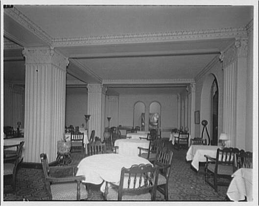 Westchester Apartments. Dining room of Westchester Apartments I