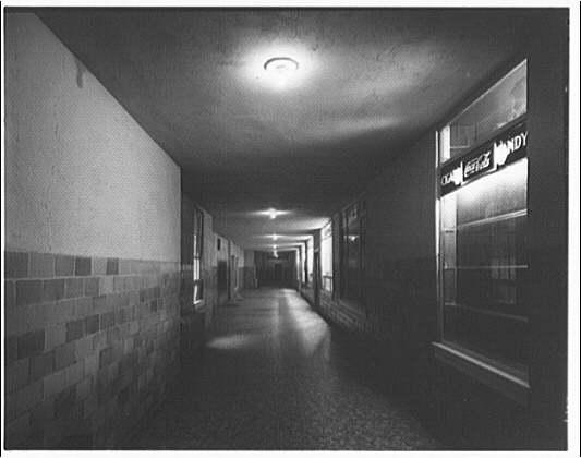 Westchester Apartments. Interior corridor of Westchester Apartments I