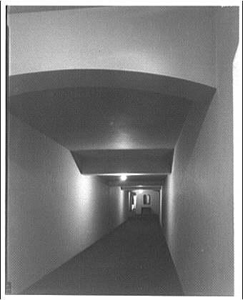 Westchester Apartments. Interior corridor of Westchester Apartments II