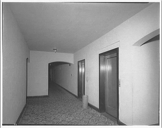 Westchester Apartments. Interior corridor of Westchester Apartments III