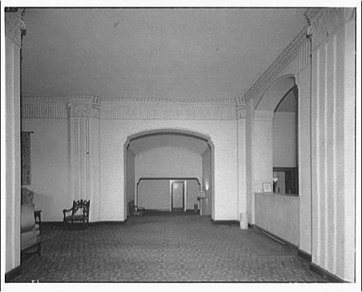 Westchester Apartments. Lobby of Westchester Apartments IV