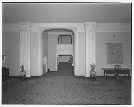 Westchester Apartments. Lobby of Westchester Apartments IX