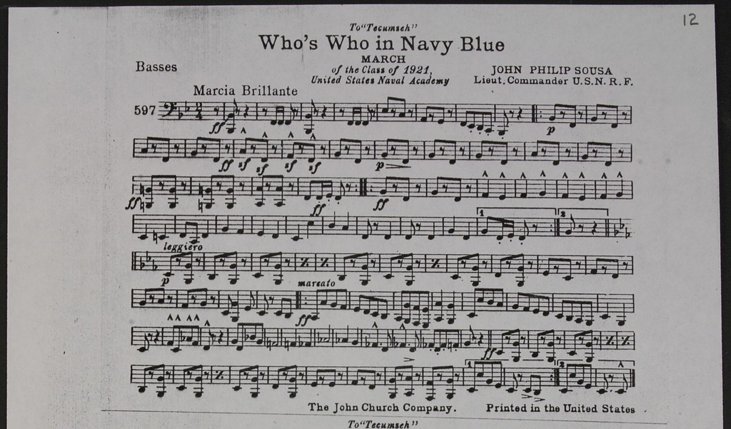 Who's Who in Navy Blue