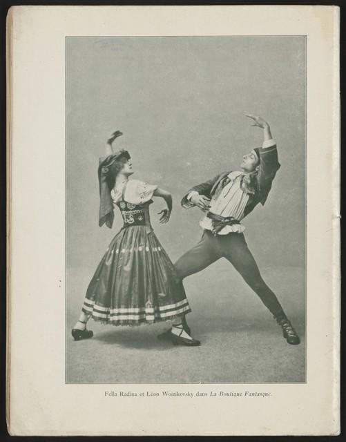 Programme Officiel--1919-1920 Ballets Russes