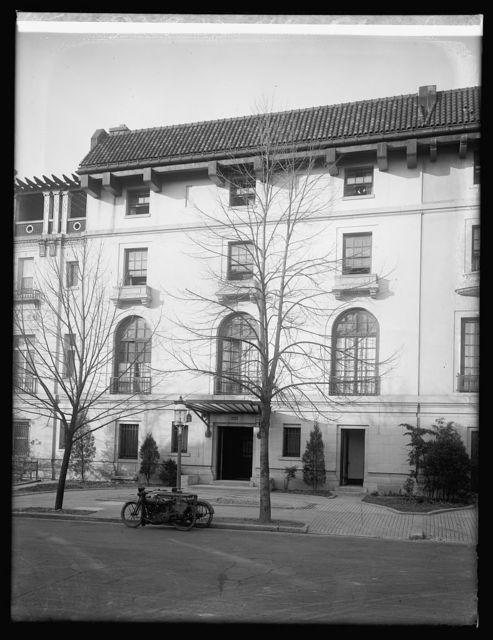 2223 R, N.W., [Washington, D.C.], Chilean Embassy (moved)