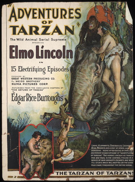 """Adventures of Tarzan"" / Ritchey Litho. Corp."