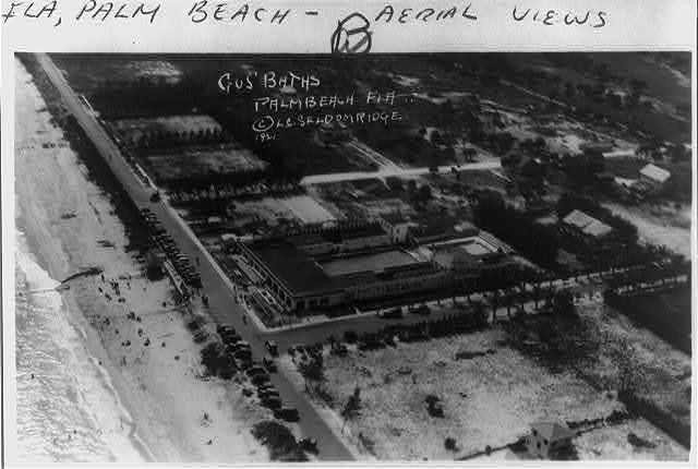 [Aerial views of Palm Beach, Florida]