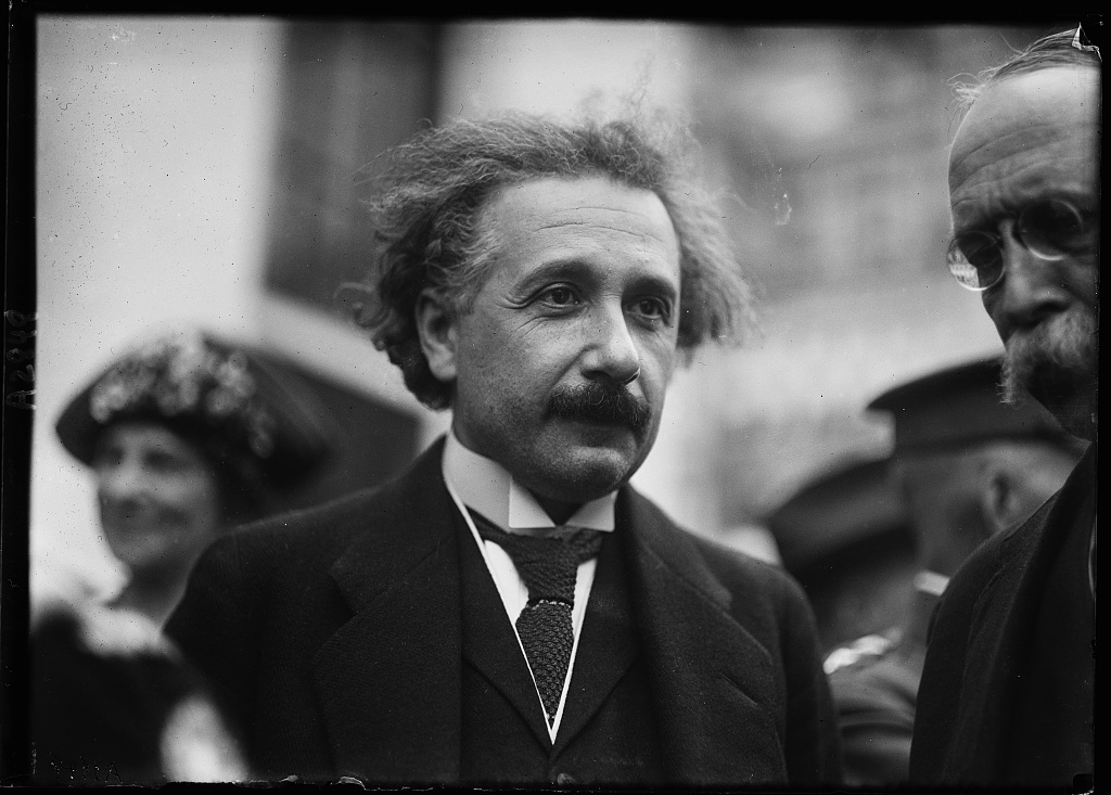 [Albert Einstein, Washington, D.C.]