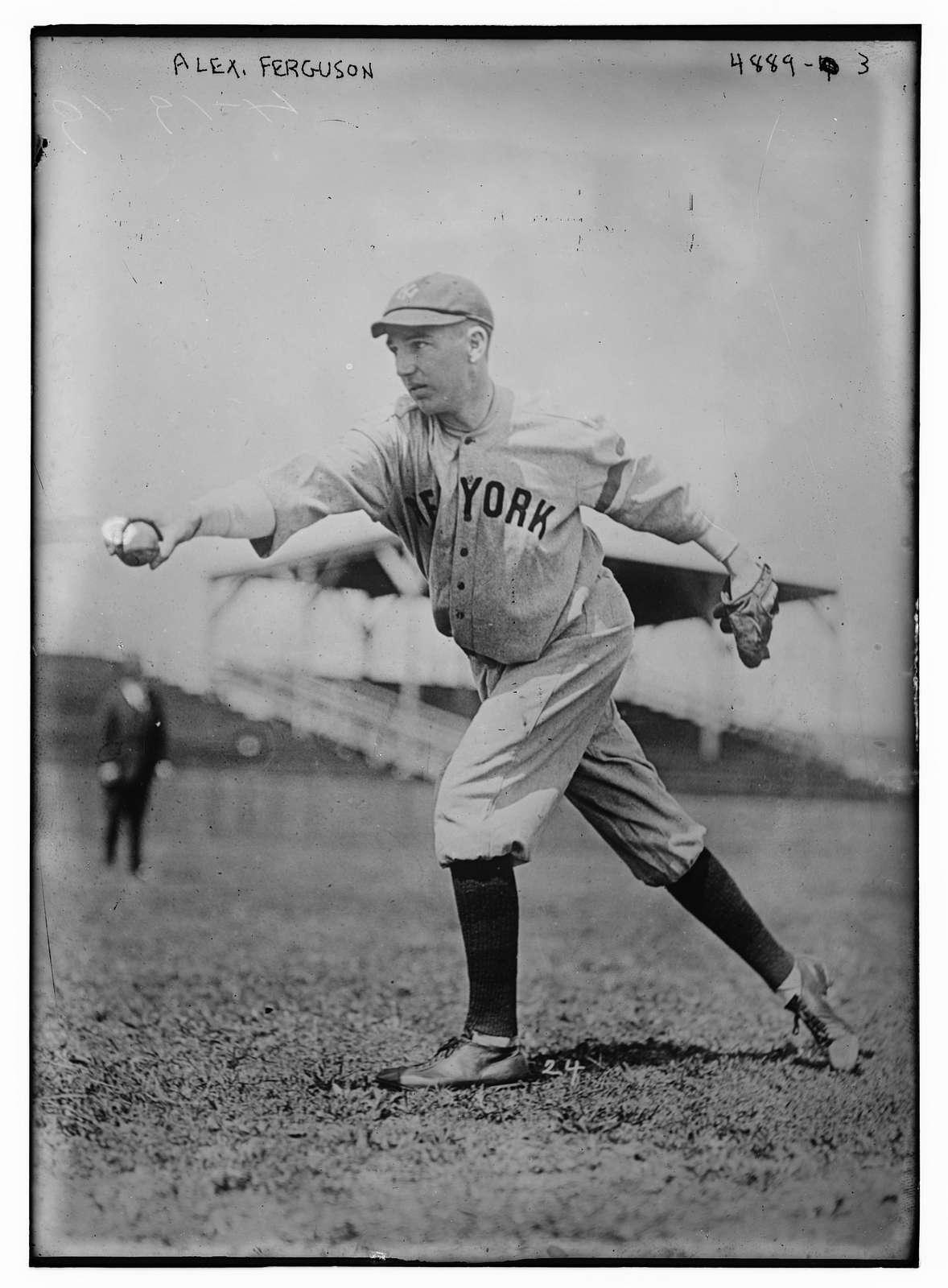 Alex Ferguson, New York AL (baseball)