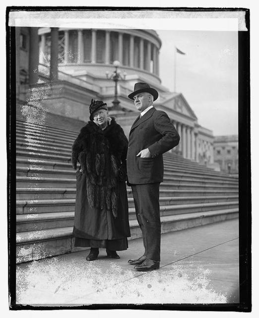 Alice M. Robertson and J.W. Harreld, Oklahoma