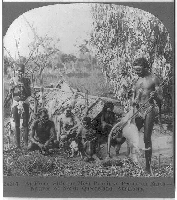 At home with the most primitive people on earth--Natives of North Queensland, Australia