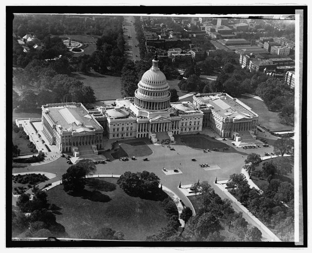 Capitol, [Washington, D.C.] from air