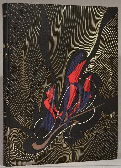 D'apre`s Paris.  Paris, Les Amis de l'amour de l'art [1921]  [89] p. plates. 46 cm.