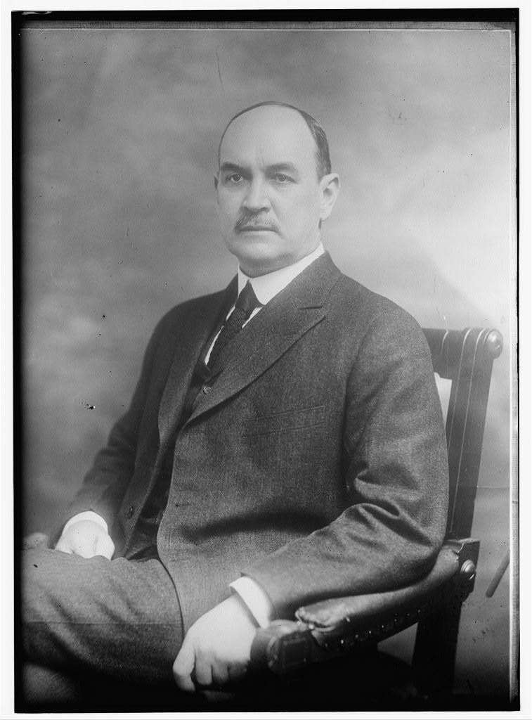 DAVID FRANKLIN HOUSTIN [sic], CHAIRMAN OF THE N.C.L.C. Mr. Houston was secretary of Agriculture in President Wilson's Cabinet, 1913-1920 and Sec. of the treasury 1920, 1921. He has been active in educational affairs throughout his life and in the promotion of social welfare generally. He has been a teacher and school Supt., a college professor in political and social science; president of the Agri. and Mechanical College of Texas; dean and later president of the University of Texas; Chancellor of Washington University; chairman of the Federal Board for Vocational Education; chairman of the Farm Loan Board; member of numerous official commissions; and a writer of force and distinction on historical, economic and financial topics. He was born in Monroe, Union Co., N.C. in 1866, received the degree of Bachelor of Arts from South Carolina College, and Master of Arts from Harvard. The degree of Doctor of Laws has been conferred upon him by seven different colleges and Universities, including Harvard, Yale and the University of Wisconsin. Mr. Houston says he looks upon his work with the National Child Labor Committee as presenting a great opportunity. It is the same opportunity that is shared by every member of the organization. Shoulder to shoulder with Mr. Houston let us all prove equal to the opportunity which is ours today. AUGUST AMERICAN CHILD. 1921.