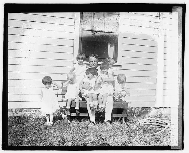 Davis with kids, Moosehead