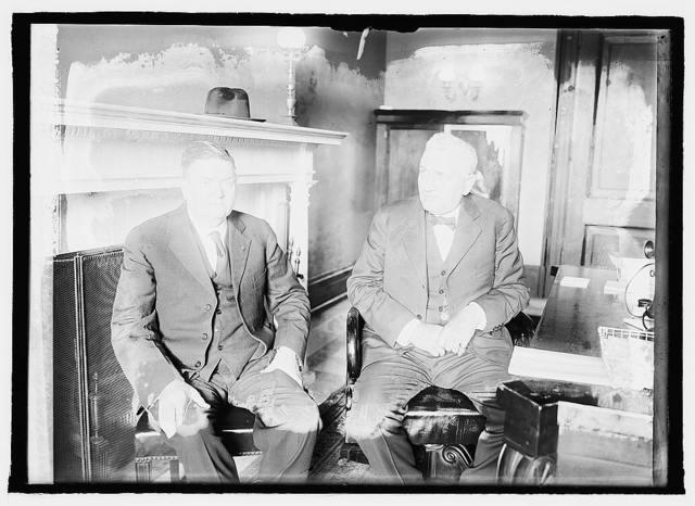 Ex. Sen. Geo. Curry & Sen. Helm Bursum, N.M.