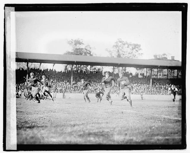 Georgetown, Fordham game
