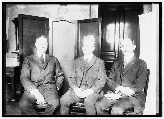 [Gilbert Betterman, Gus J. Kaiger, F.W. Galbraith, 2/8/21]