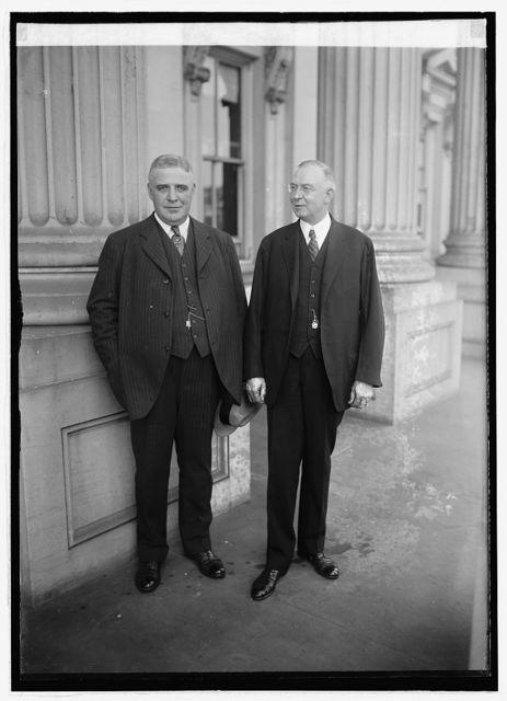 Gov. Sproul & Senator Wm. F. Crow of Pa., [10/24/21]