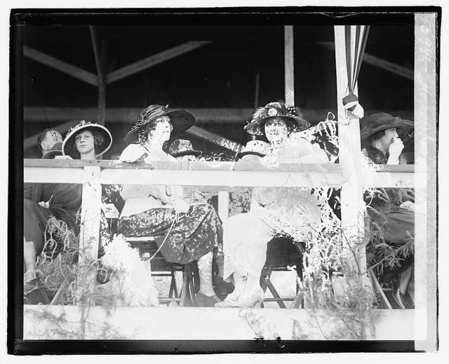 Horse show, 1921, 5/14/21, Mrs. Sen. P.G. Gerry, Mrs. Reynolds Hitt