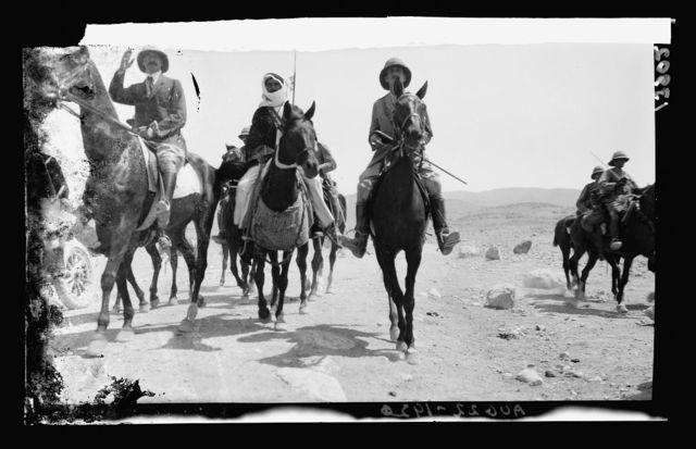 H.S. [i.e., Herbert Samuel] at Amman, Apr. 17-19, 1921
