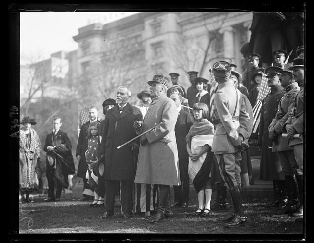 [J.J. Jusserand, Marshal Ferdinand Foch, Washington, D.C.]