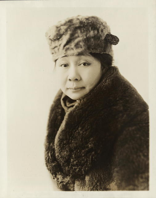 Madame J. C. De Veyra, wife of the Philippino Commissioner to the United States and president of the Woman's Club of Manila which has led in the suffrage movement for women of the Philippines.