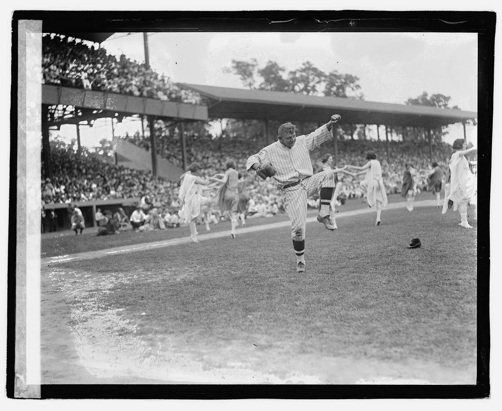 Masonic ball game, 1921