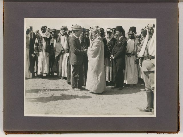 Meetings of British, Arab, and Bedouin officials in Amman, Jordan, April 1921
