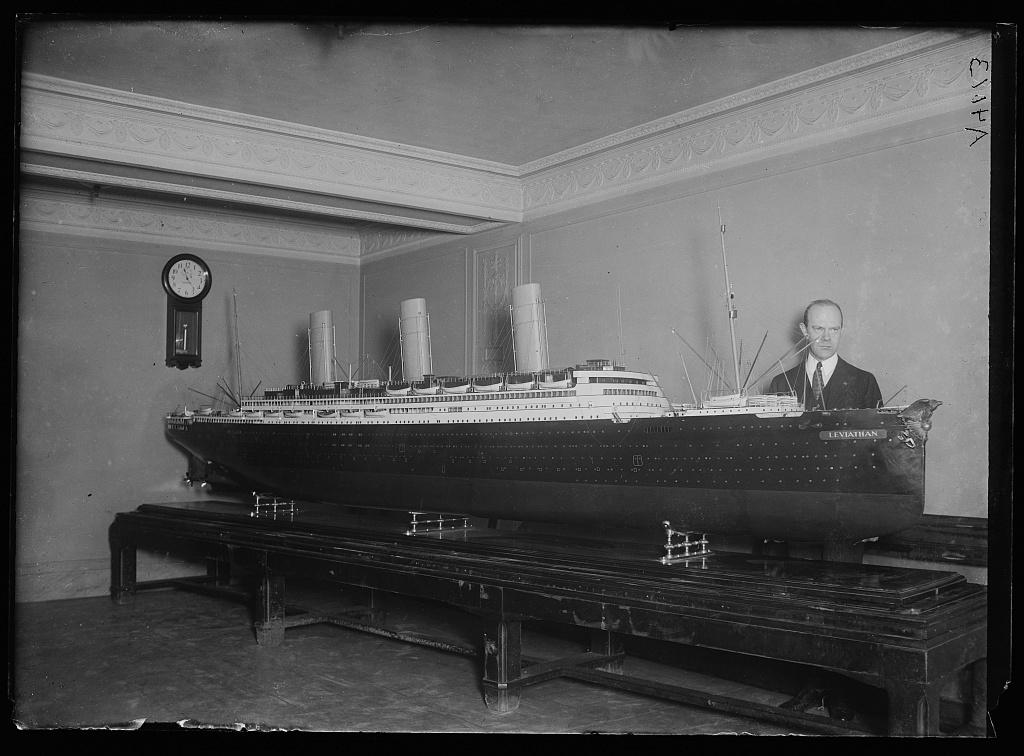 [Model of ship] Leviathan