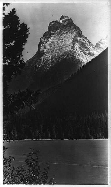Mount Kinnerly, Glacier Park, Montana