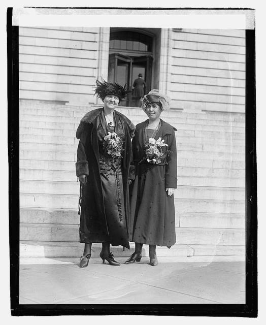 Mrs. Marshall & Mrs. Coolidge