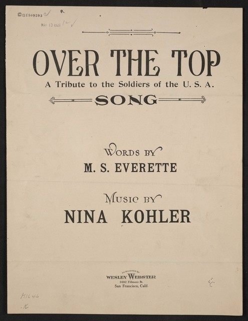 Over the top a tribute to the soldiers of the U.S.A