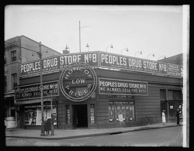 Peoples Drug store, 14 & Park Rd., [Washington, D.C.]