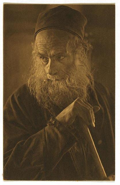 "Picture postcard, ""A Spanish Jew of Jerusalem"""