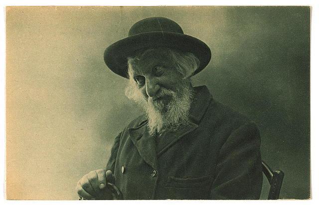 "Picture postcard ""An Orthodox Jew of Jerusalem"""